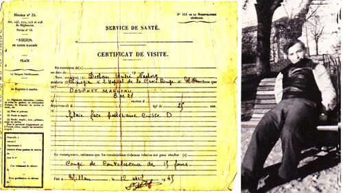 """* Marceau DOUCHET (BM 21) """"Grand-père, enfin je sais !"""""""