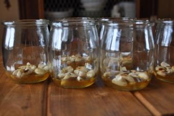 Taourts miel et amandes grillées