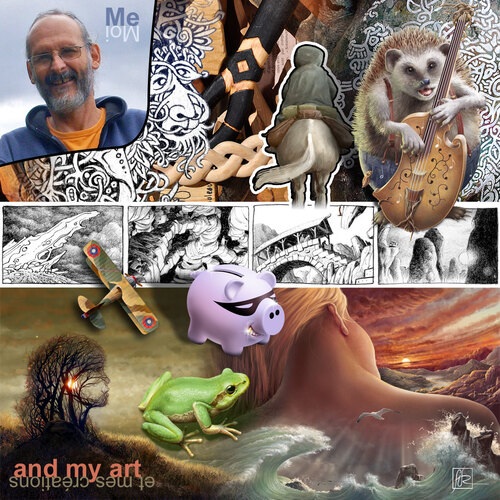 me and my art
