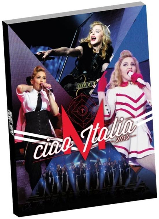 madonna-ciao italia 2012-book