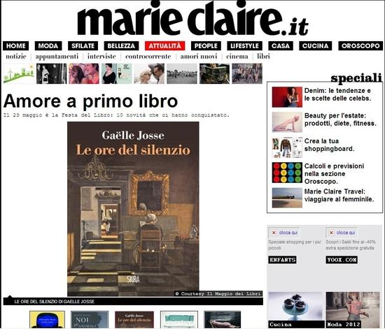 marie claire italie