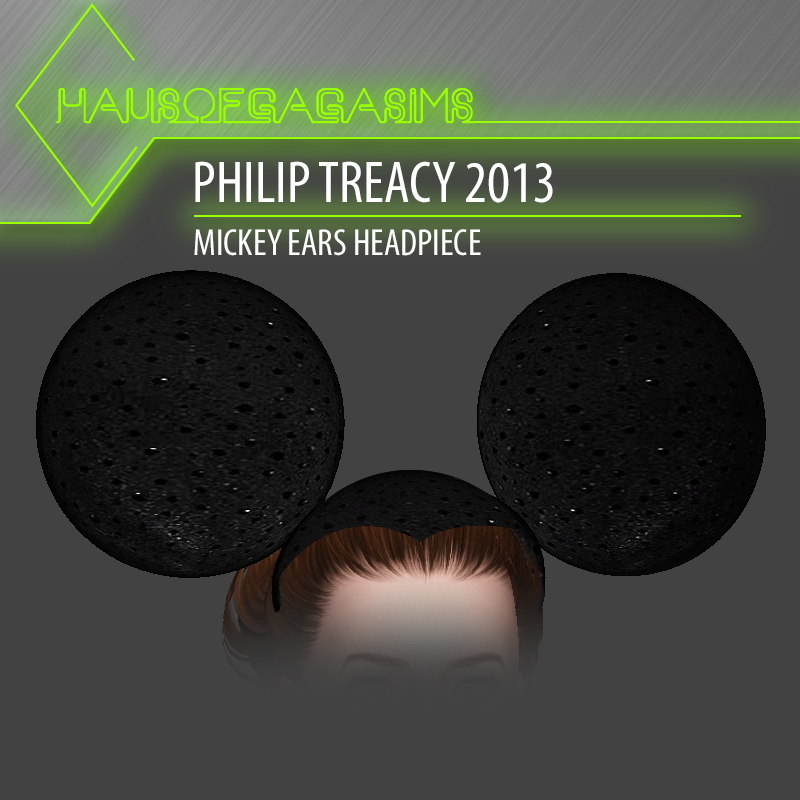 PHILIP TREACY 2013 MICKEY EARS HEADPIECE