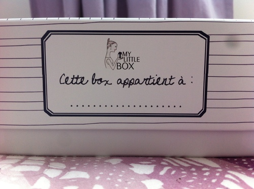 ~~ My little box de septembre ~~