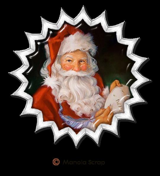 Médaillons du Père Noel 2