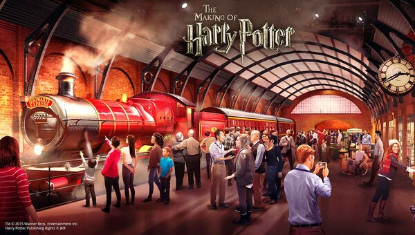 Les studios Harry Potter