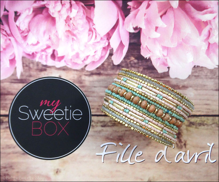 My sweetie box fille d'avril !