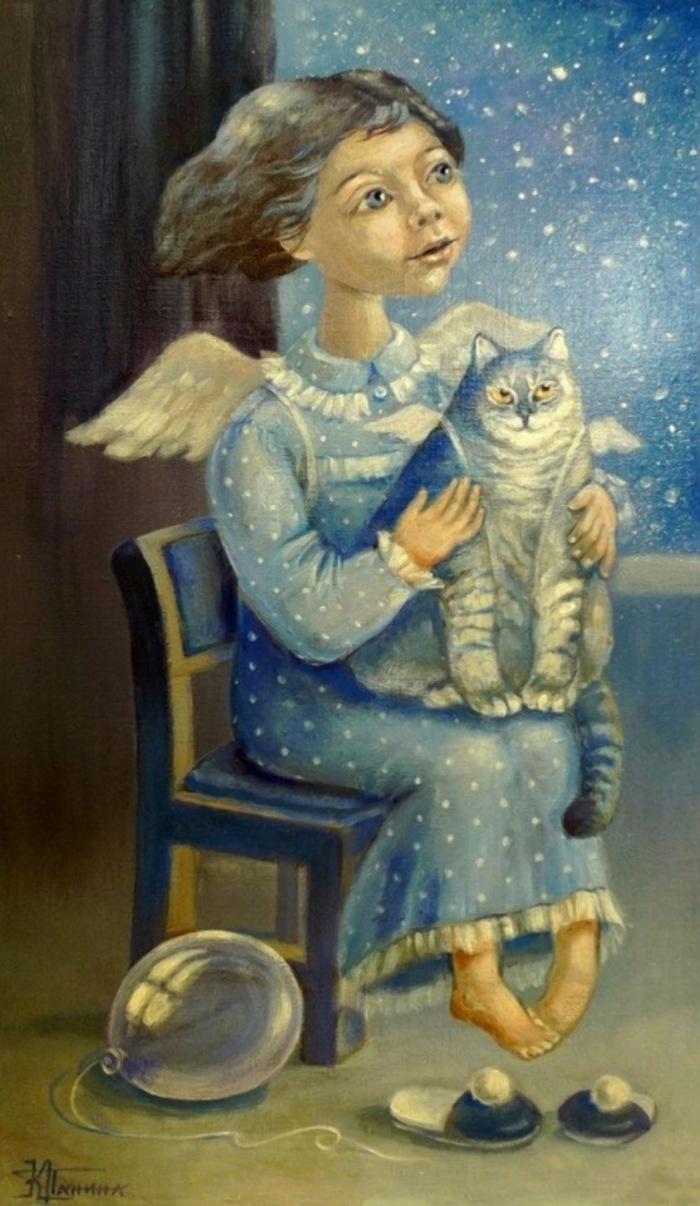 artiste peintre russeKira Panina
