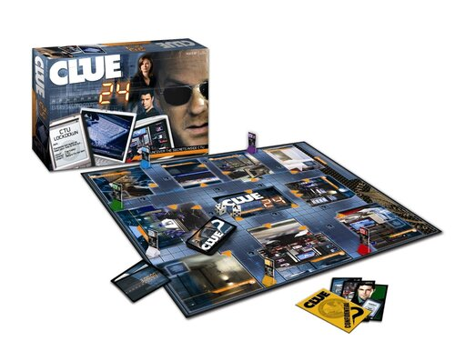 2006 -24 the DVD Board game / 2007 -24 Trading Card Game / 2009 -Clue 24