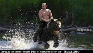 Ah le gentil Poutine... Je ne parle pas des Russes ils n'ont pas leur mots a dire
