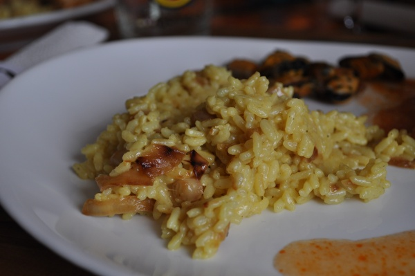Risotto au curry