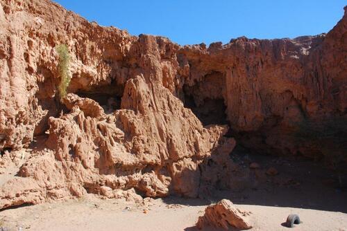 Les grottes Messalit