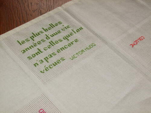 Nappe aux citations