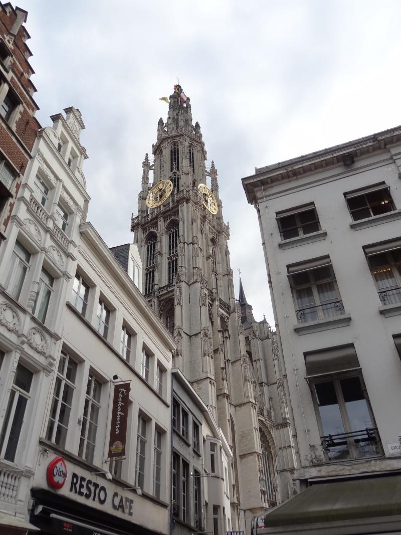 Anvers, la vieille ville...