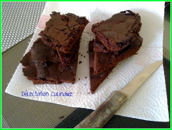 Brownie/biscuit au yaourt et au chocolat noir Bio Cémoi