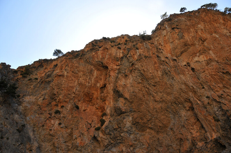 les gorges de Samaria