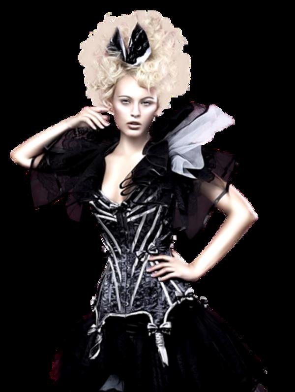 Femme corsetée / 7