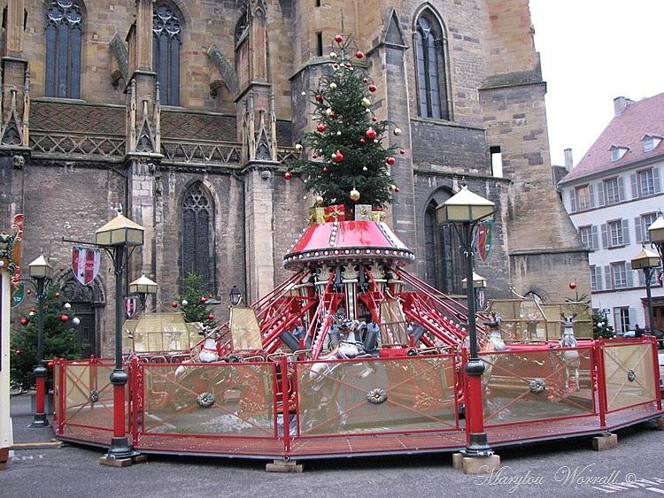 Au temps des marchés de Noël : Colmar  Marché de Noël Gourmand
