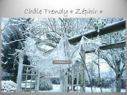 """""""Zéphir"""" mon nouveau châle Trendy.."""