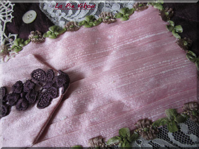Pochette en soie