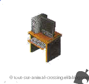 ordinateur - animal crossing ds