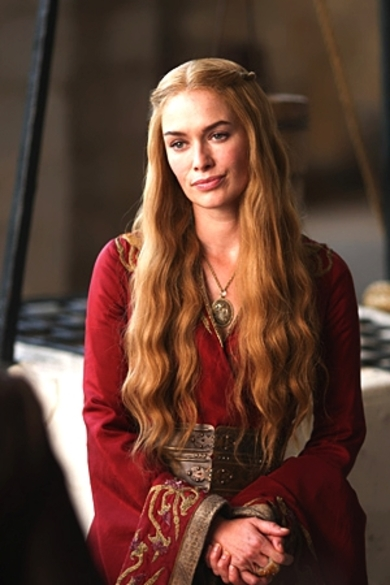 Evolution du look de Cersei: saison 1