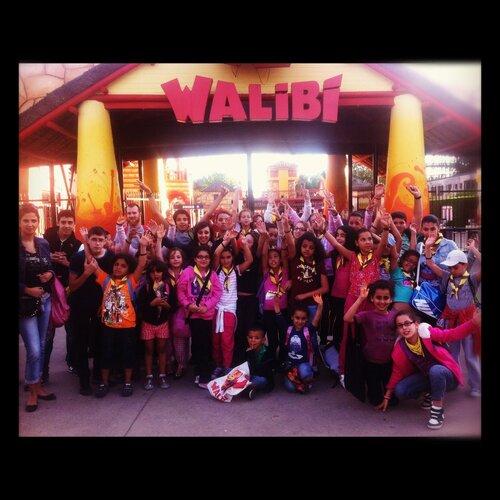 Walibi 25 aout 2012