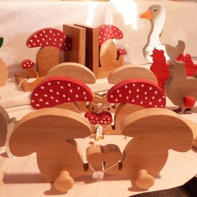 Le marché de Noël de l'abbaye de Chaalis 2014...atelier virobois