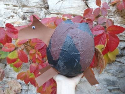 Blog de melimelodesptitsblanpain : Méli Mélo des p'tits Blanpain!, Fabriquer une lanterne en papier mâché