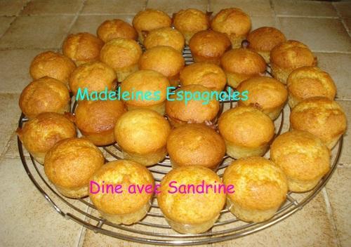 Les Magdalenas ou madeleines espagnoles