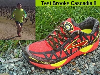 8 Brooks Cascadia Chaussure Trail Chaussure WEI29DH