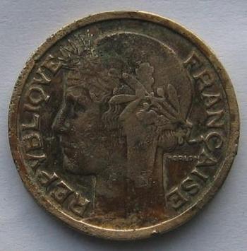 2 francs Morlon 1938  avers