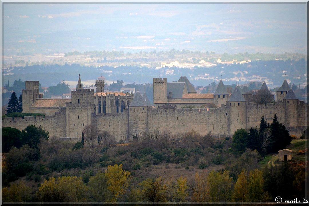 Citadelle de Carcassonne.....au zoom