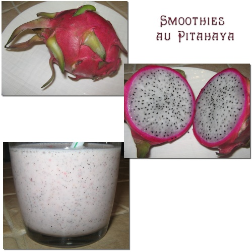 Smoothies au pitahaya