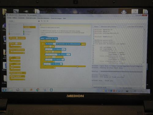 Mbot Arduino et Mathématiques