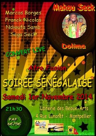 ☆ Concerts Novembre 2014