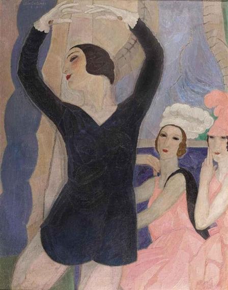 """Les Biches (1924) - Une parodie des """"années folles"""""""