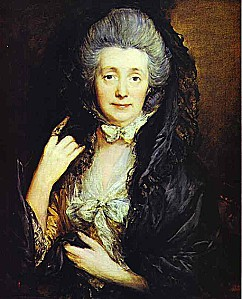 Mrs Thomas Gainsborough nee%20Margaret Burr ca 1778