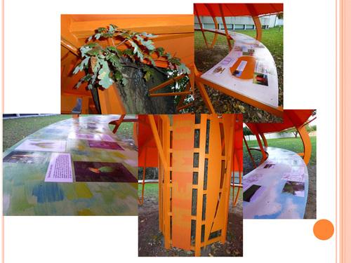 Le Mémo a été inauguré dans le parc de la médiathèque de Frontenac