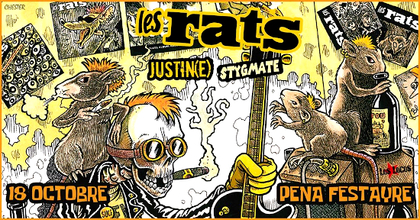 Soirée rock, punk-rock au bar/resto La Pena Festayre - Paris