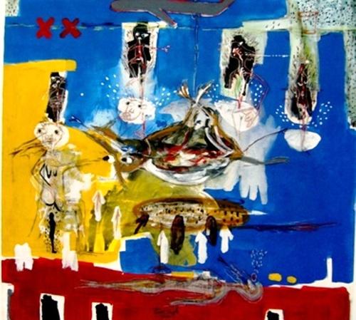 Pierre Segoh,  artiste malien en résidence en Ile de France