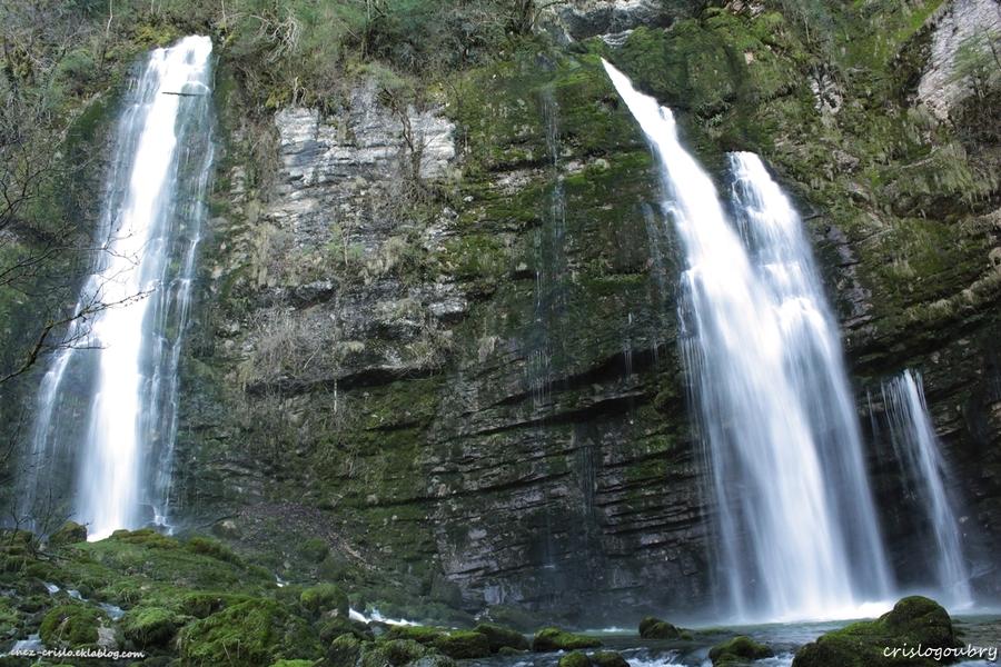 les cascades du Flumen