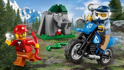 LEGO CITY - Poursuite en moto tout terrain (37 pièces)