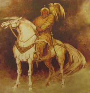 SAGESSE : Gengis khan et son aigle