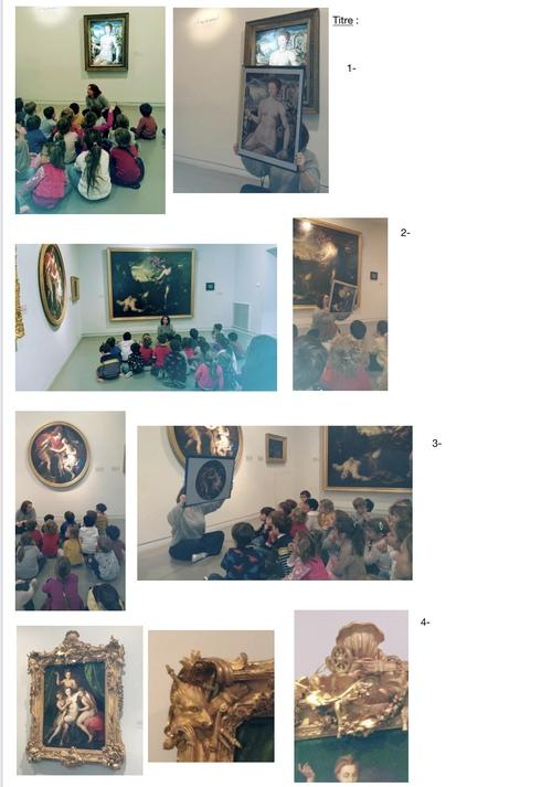 Visite au musée Granet - observer un tableau