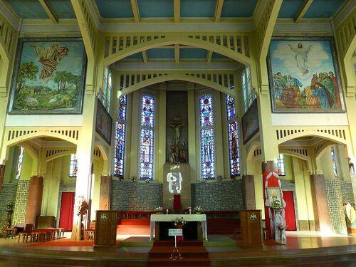 l'intérieur de la cathédrale Ste Mary