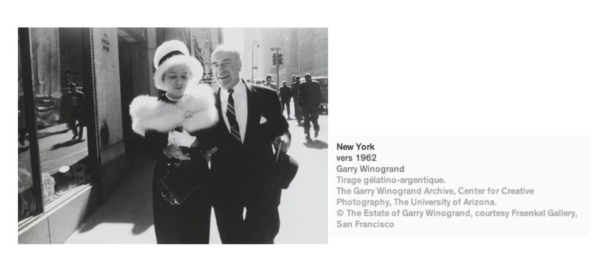 EXPOSTION : Paris - Garry Winogrand au Jeu de Paume