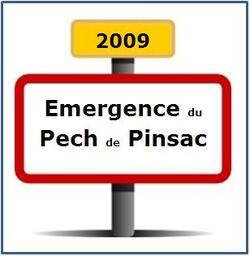 Emergence du pech de Pinsac