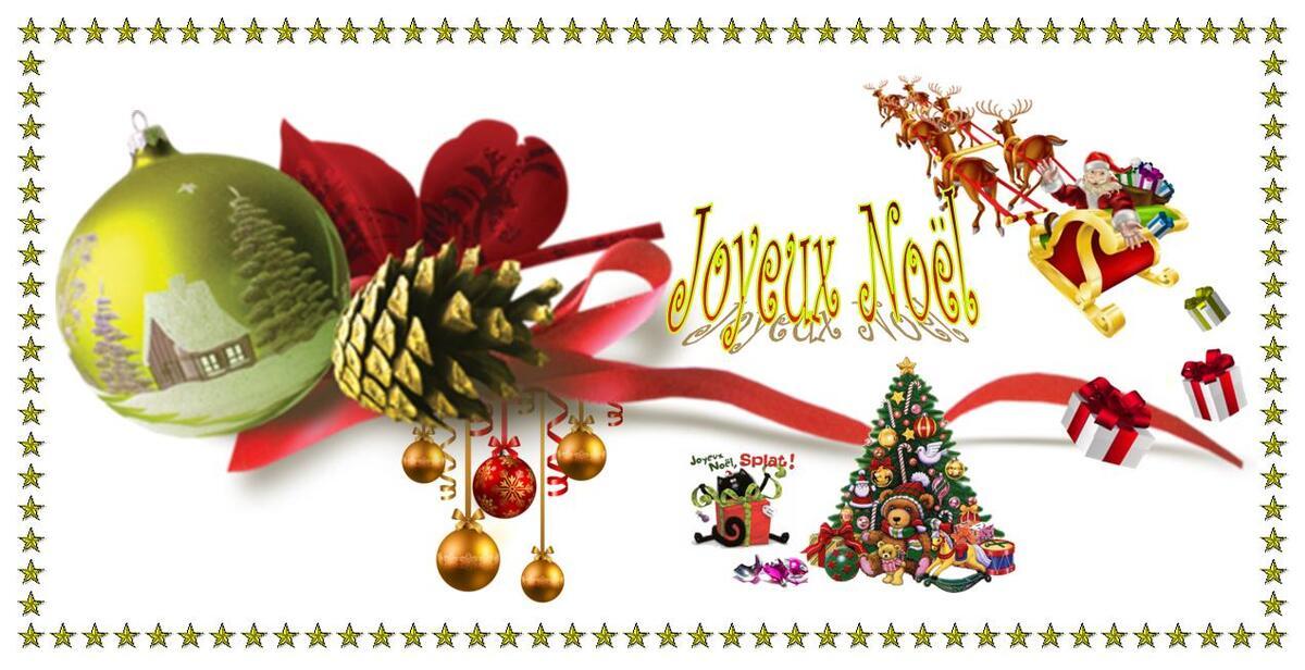 Joyeux Noël et fêtes de fin d'année