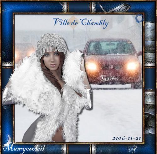 Aujourd'hui première neige en Montérégie