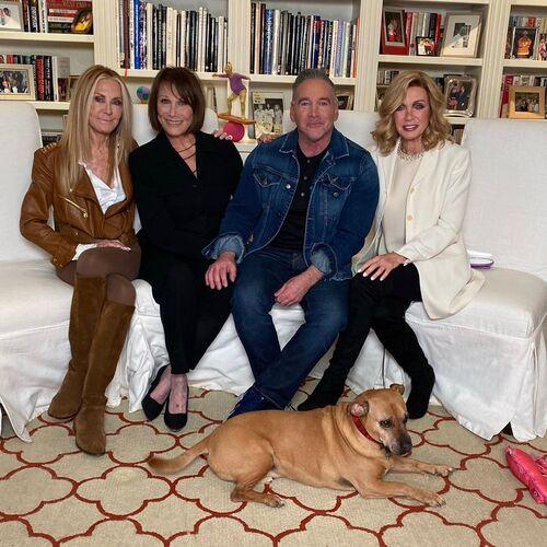 Joan Van Ark, Michele Lee et Donna Mills interviewées par Michael Fairman - Knots Landing 40 ème Anniversaire.